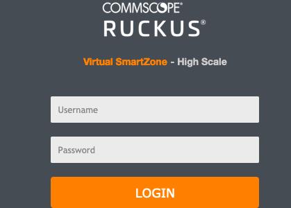 Ruckus vSZ API's